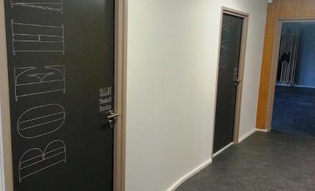 Portes acoustiques isolantes int rieures - Isolation phonique d une porte ...