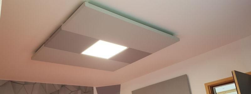 Panneaux Acoustiques Isophonic Lumineux Assemblés