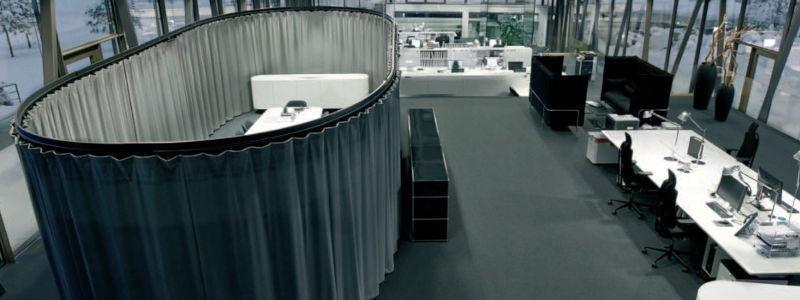 Rideaux acoustiques isolants ISO-SPACE